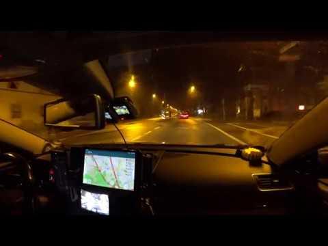 boring 1.5 hours night drive on german Autobahn (no music, no talking, ASMR) Frankfurt to Düsseldorf