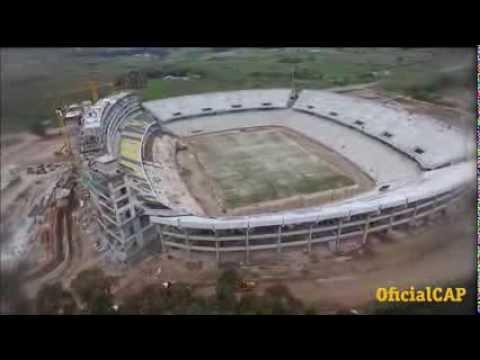 asi viene avanzando el nuevo estadio de penarol
