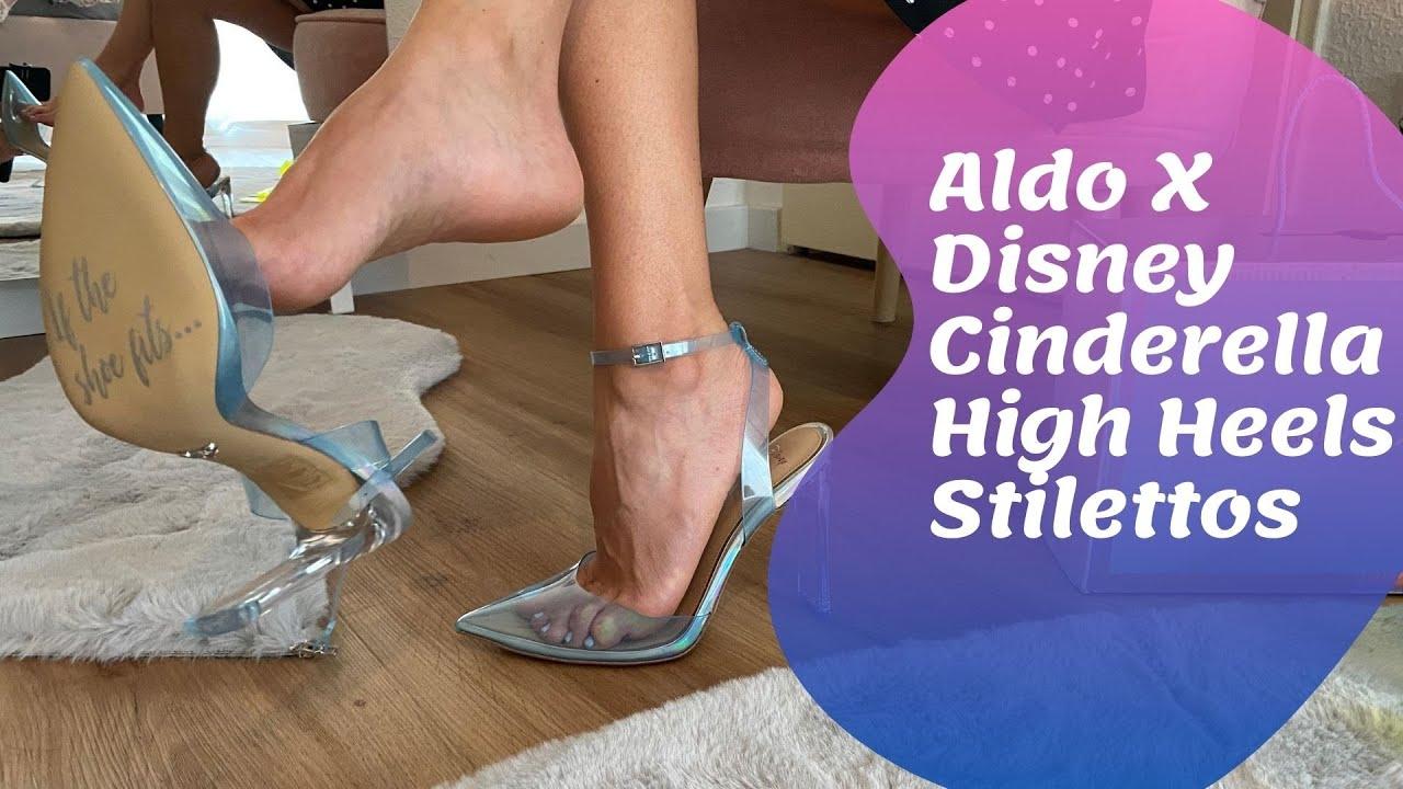 Aldo X Disney 2 pair of Cinderella High