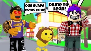 😱BENITO WANTS TO ENGAÑARME!! HE PRETENDS TO BE PINK! - ROBLOX MINIPELICULA ADOPTME ROLEPLAY