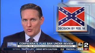Carroll County Public Schools looking to ban Confederate flag clothing