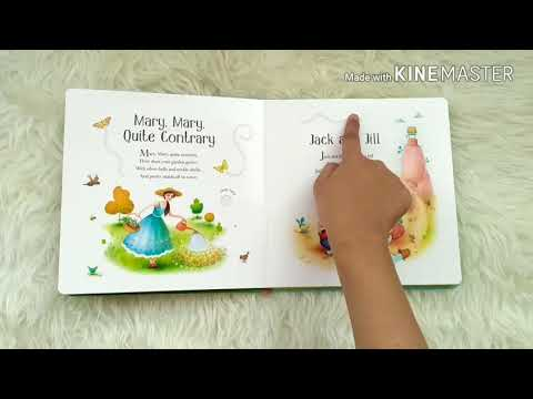Musical Nursery Rhymes - Usborne Sound Books with touch-sounds, trails to touch & follow