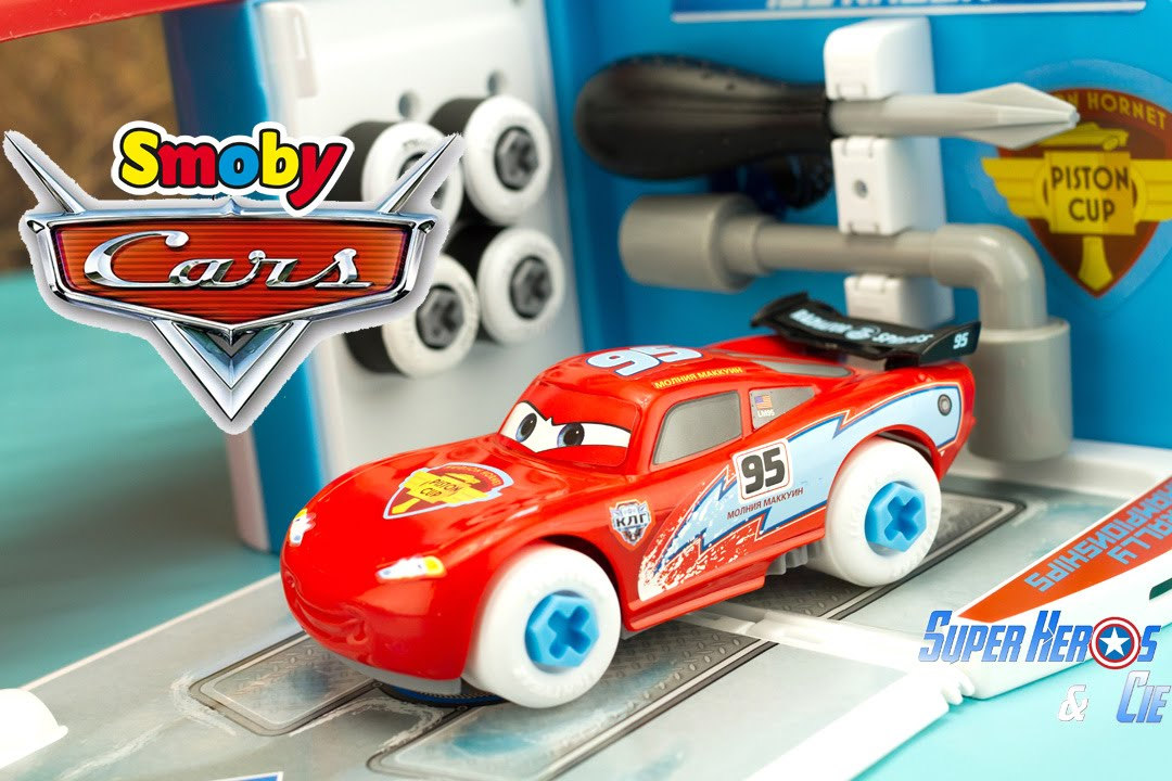 Disney pixar cars lightning mcqueen ice racers smoby for 2 box auto indipendenti