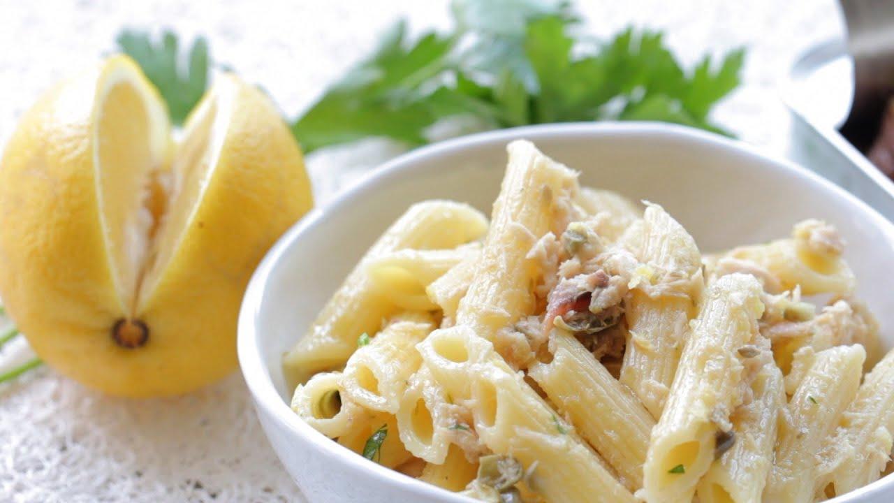 Simple tuna pasta recipe