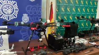 Desarticulan red dedicada a llevar y traer droga en drones entre Ceuta y Marruecos