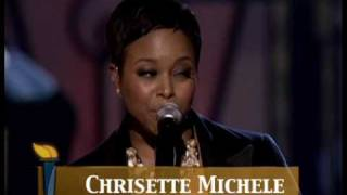 "Chrisette Michele Peforms ""Jesus Is Love"" - Lionel Richie - An Evening of Stars"