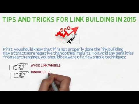 Link building tips and tricks youtube for Construction tips and tricks