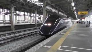 上越新幹線E3系 現美新幹線 とき456号 越後湯沢行き 長岡駅発車