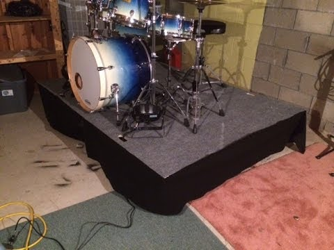 Drum or Stage Riser DIY