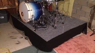 Drum or Stage Riser DIY