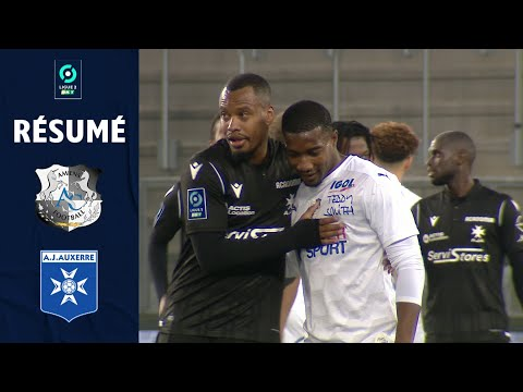 Amiens Auxerre Goals And Highlights
