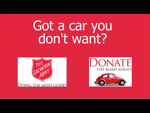 Car donation to Salvation Army - How and why to donate a vehicle
