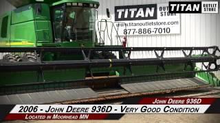 john deere 936d 36 ft transport 9660 9760 9860 9670 9770 header draper sold on els