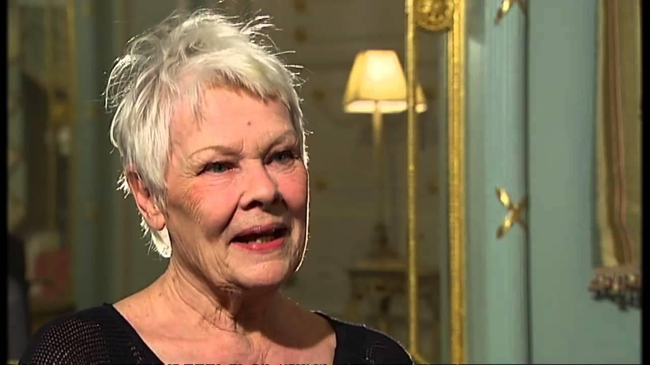 Dame Judi Dench: I'm a Quaker and a 'peacenik' - video ...