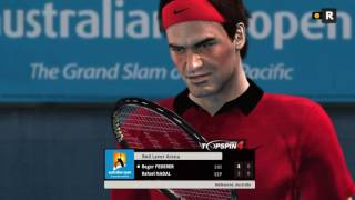 Australian Open 2017 final -Top Spin 4 (Expert-5 set match)