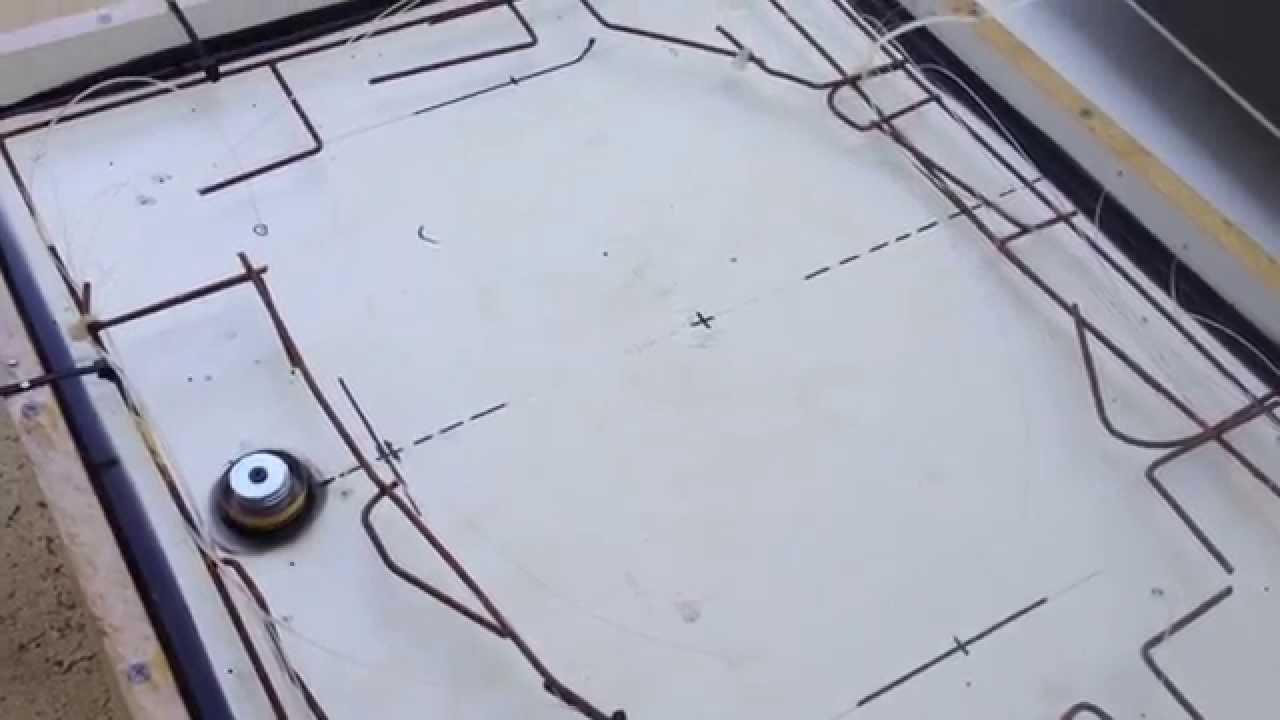 Concrete countertop w/fiber optics embedded 2 of 23 - YouTube