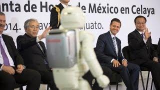Inauguración de la Planta Honda de México en Celaya
