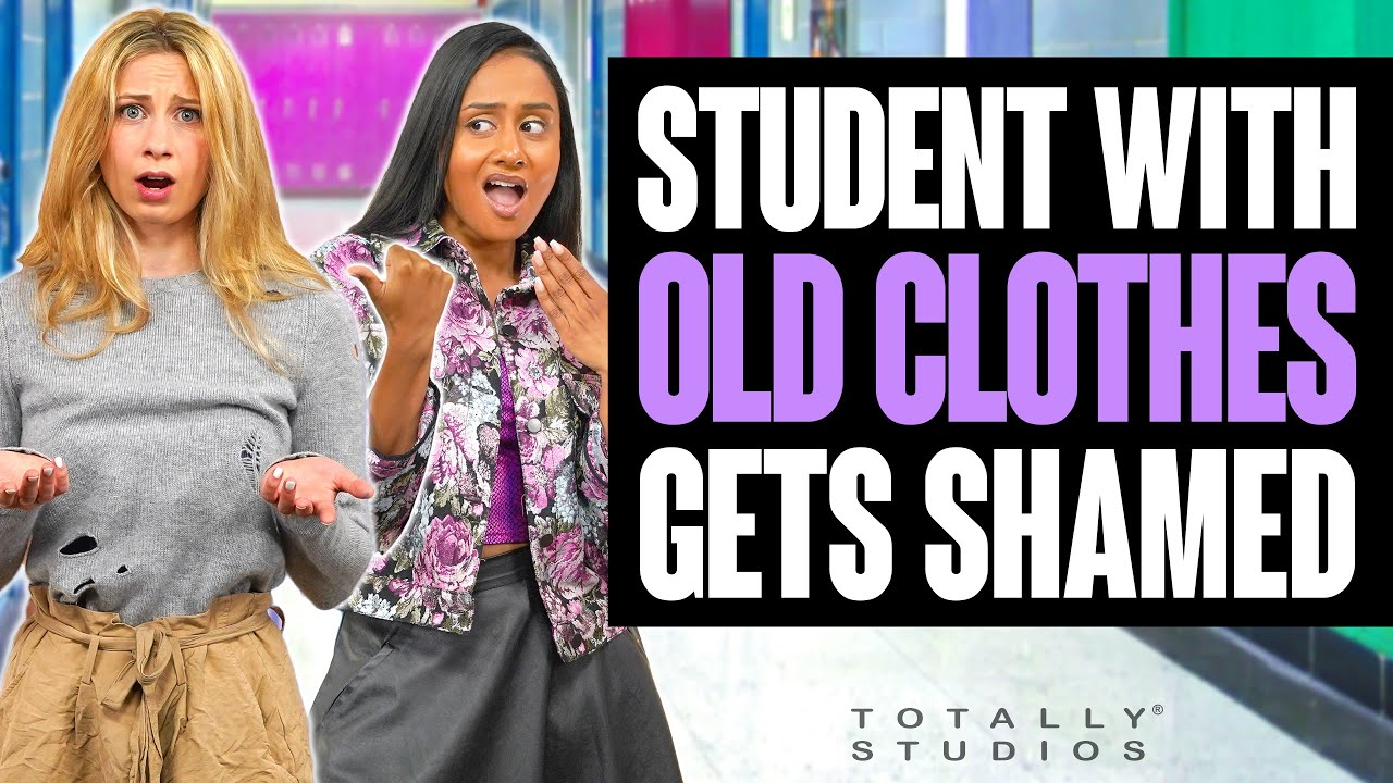 Download STUDENT with OLD CLOTHES gets SHAMED. Popular Girl Regrets It Instantly at the End. Totally Studios.