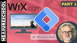 How to install Google Tag Manager on Wix (feat. Mike Sale)