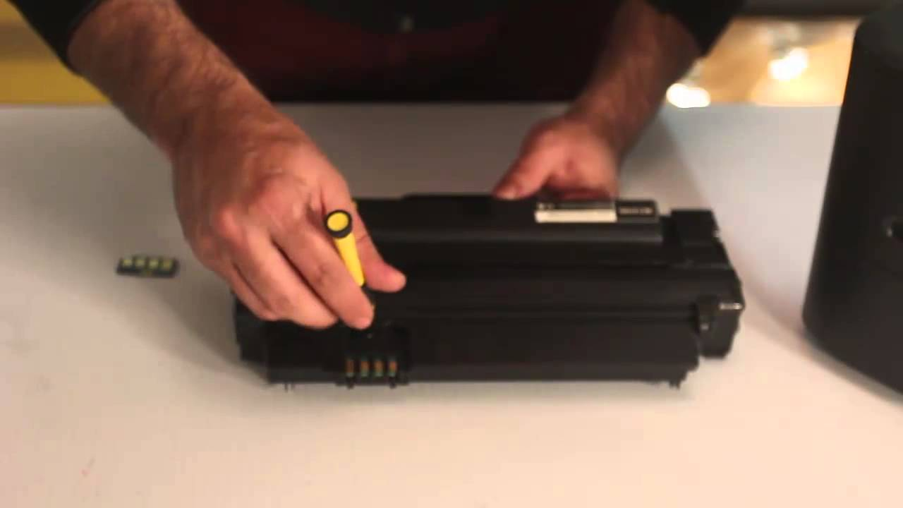 How To Replace Electronic Chip In Samsung Toner Cartridge