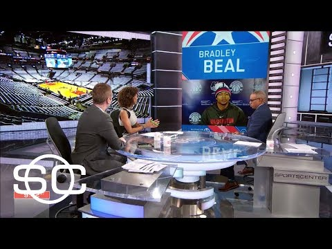 Bradley Beal laughs over tweet to Jayson Tatum and John Wall interviewing him | SportsCenter | ESPN