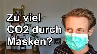 Zu viel CO2 durch Masken?