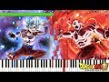 Fierce Battle Against a Mighty Foe - All Out Battle! - Dragon Ball Super OST (Piano Tutorial)