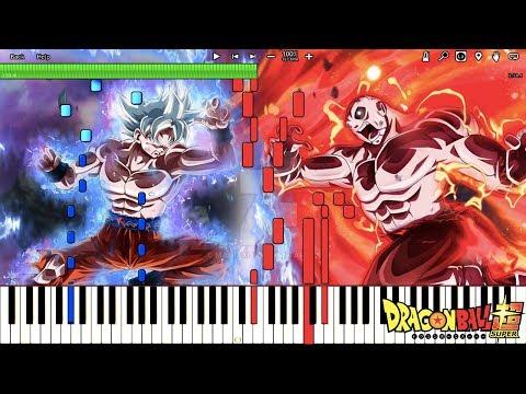 Fierce Battle Against a Mighty Foe - All Out Battle! - Dragon Ball Super OST (Piano Tutorial)