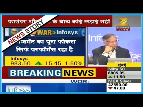 Infosys mgmt should have last word on CEO's pay: Marico chief