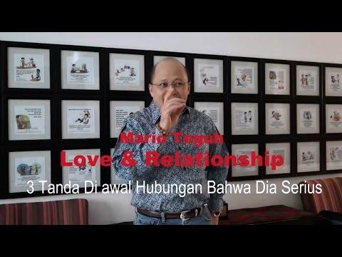 3 Tanda Di awal Hubungan Bahwa Dia Serius - Mario Teguh Love & Relationship Mp3