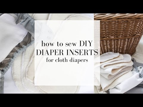 DIY Cloth Diaper Inserts