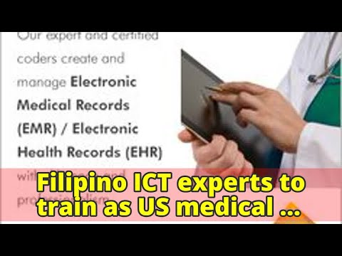 Filipino ICT experts to train as US medical coders, billersFilipino ICT experts to train as US medic