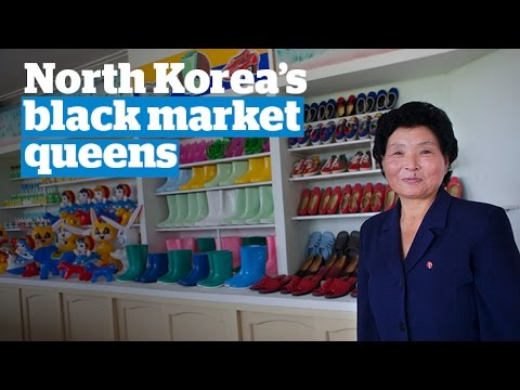 North Korean women - 'world's best entrepreneurs'