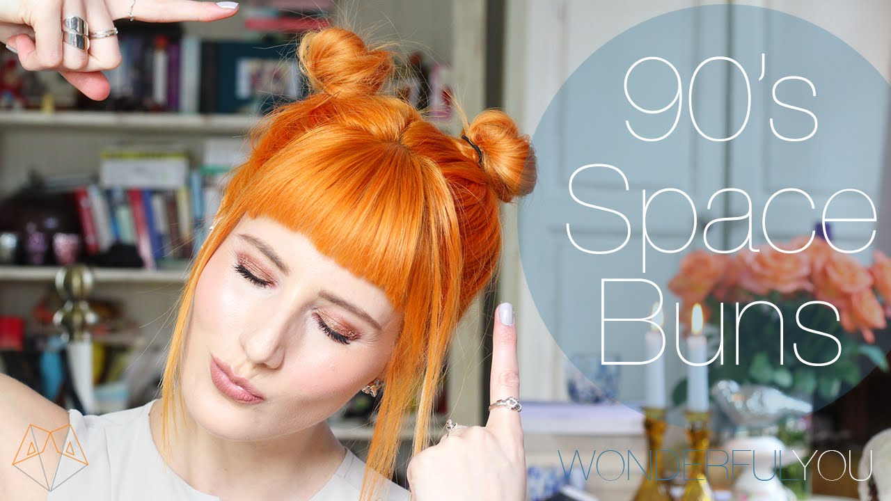 90 S Space Buns For Short Hair Hairbymegs Wonderful You Youtube