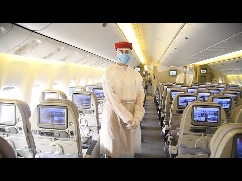 Emirates puts health and safety first for customers and employees