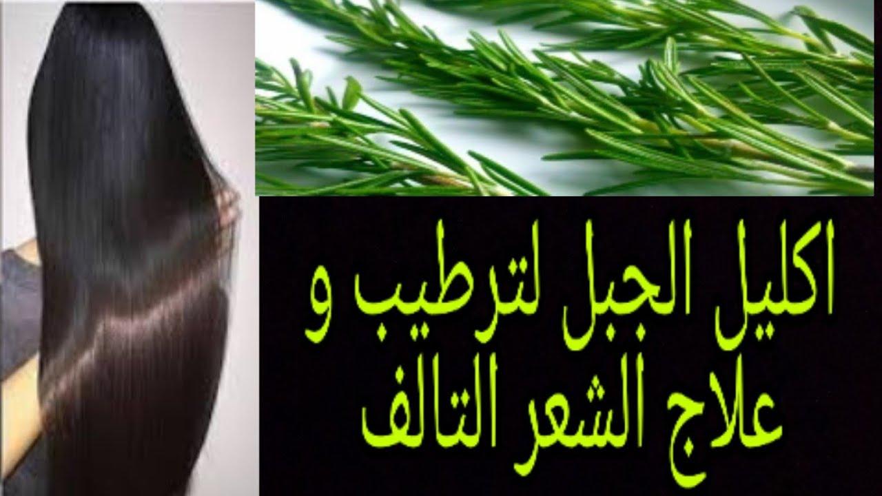 تطويل الشعر وصفة اكليل الجبل لتطويل الشعر باسبوع و ملأ الفراغات و علاج تساقط الشعر Youtube
