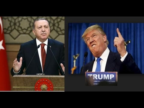 Erdogan  banned Donald Trump name and brand in Turkey