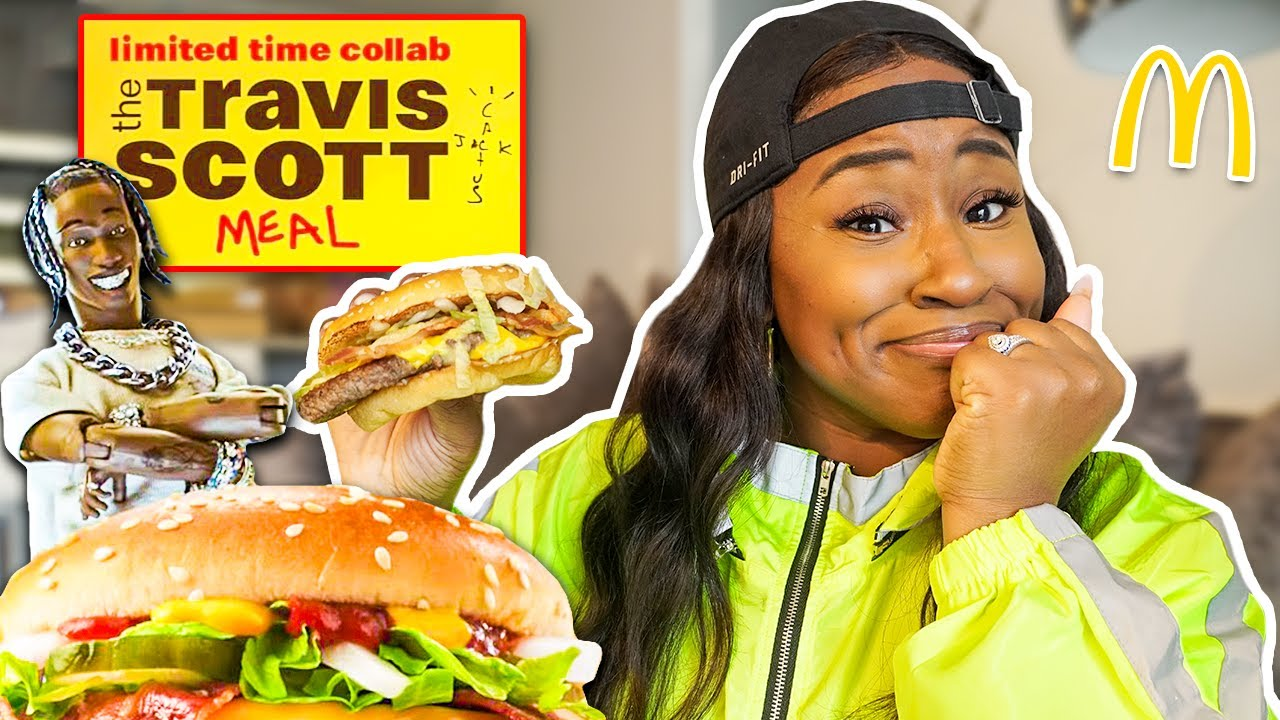 Download TRYING THE TRAVIS SCOTT MCDONALD'S MEAL!