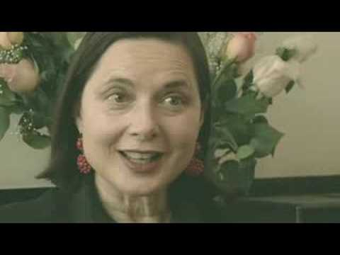 Isabella Rossellini's 5-Word Speech from YouTube · Duration:  15 seconds