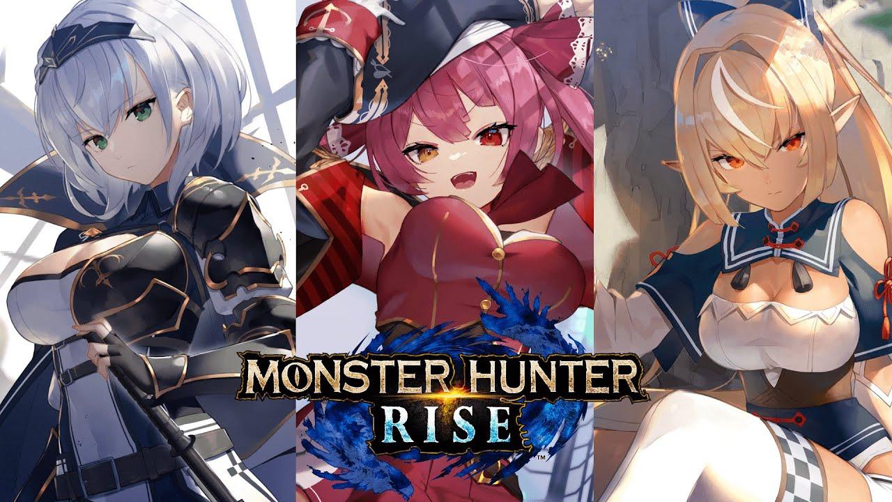 [Monster Hunter Rise]Older sisters who challenge Apde[#Holofan older sister group]