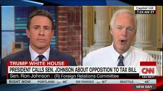 Why Sen  Ron Johnson opposes tax plan