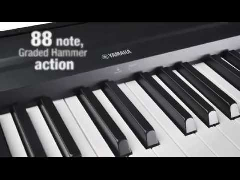 yamaha p35b 88 key digital piano youtube. Black Bedroom Furniture Sets. Home Design Ideas