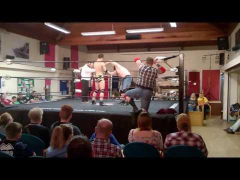 Falling Starr Wrestling Holt - Jack Hammer and Dark Wolf Matt Walters vs The NLP