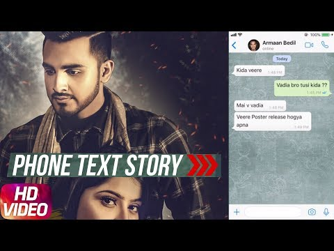 Phone Text Story | Ronda Ronda | Armaan Bedil | Tru Makers | Releasing On 16th April | Speed Records