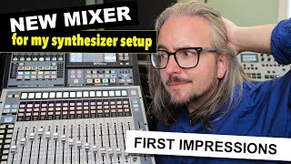NEW MIXER FOR MY SYNTHESIZER SETUP!! – Presonus StudioLive 32SC