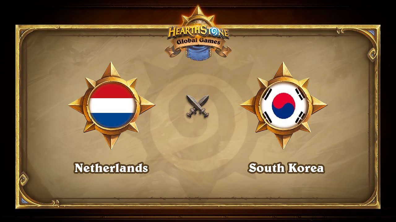 Netherlands vs South Korea, Hearthstone Global Games Phase 2