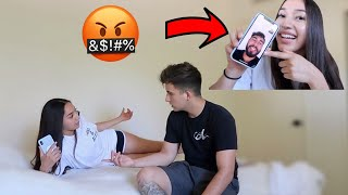 FACETIMING ANOTHER GUY IN FRONT OF BOYFRIEND!! **GETS HEATED**
