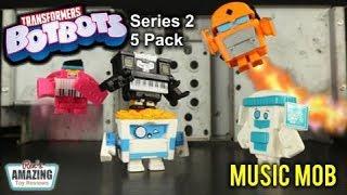 Серія BotBots трансформатори 2 5 пакет музика моб анбоксинг + огляд іграшки 01