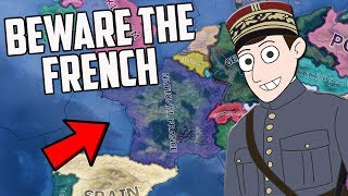 What If The French Monarchy Returned?! HOI4