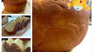 Белый хлеб (хлебушек) в мультиварке. ВКУСНОЕ МЕНЮ. Пошаговое приготовление
